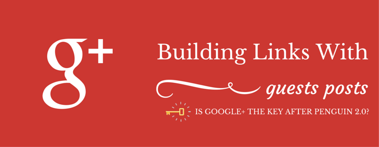 Building Links With Guest Posts