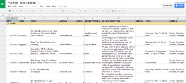 Editorial Calendar Template. Tackle Your Editorial Calendar