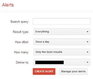Brand Monitoring With Google Alerts