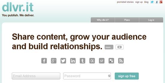Dvlr.it Social Media Tool