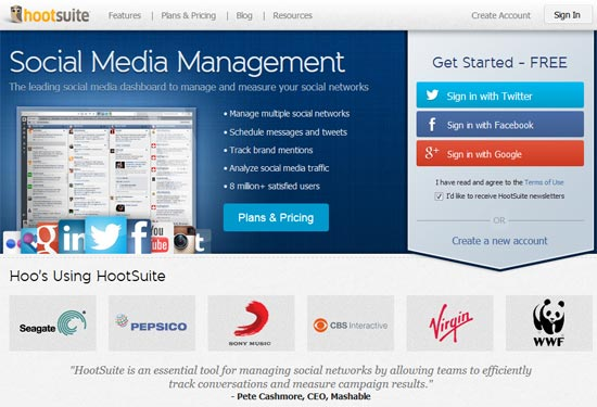 Boost Social Media Productivity With Hootsuite