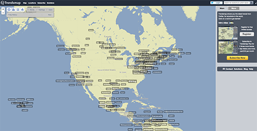 Trends Map