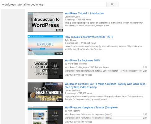 Target Keyword YouTube Video