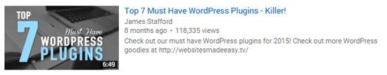 Top 7 Must Have WordPress Plugins
