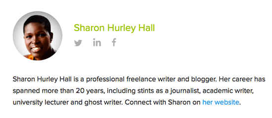 sharon hurley hall author bio